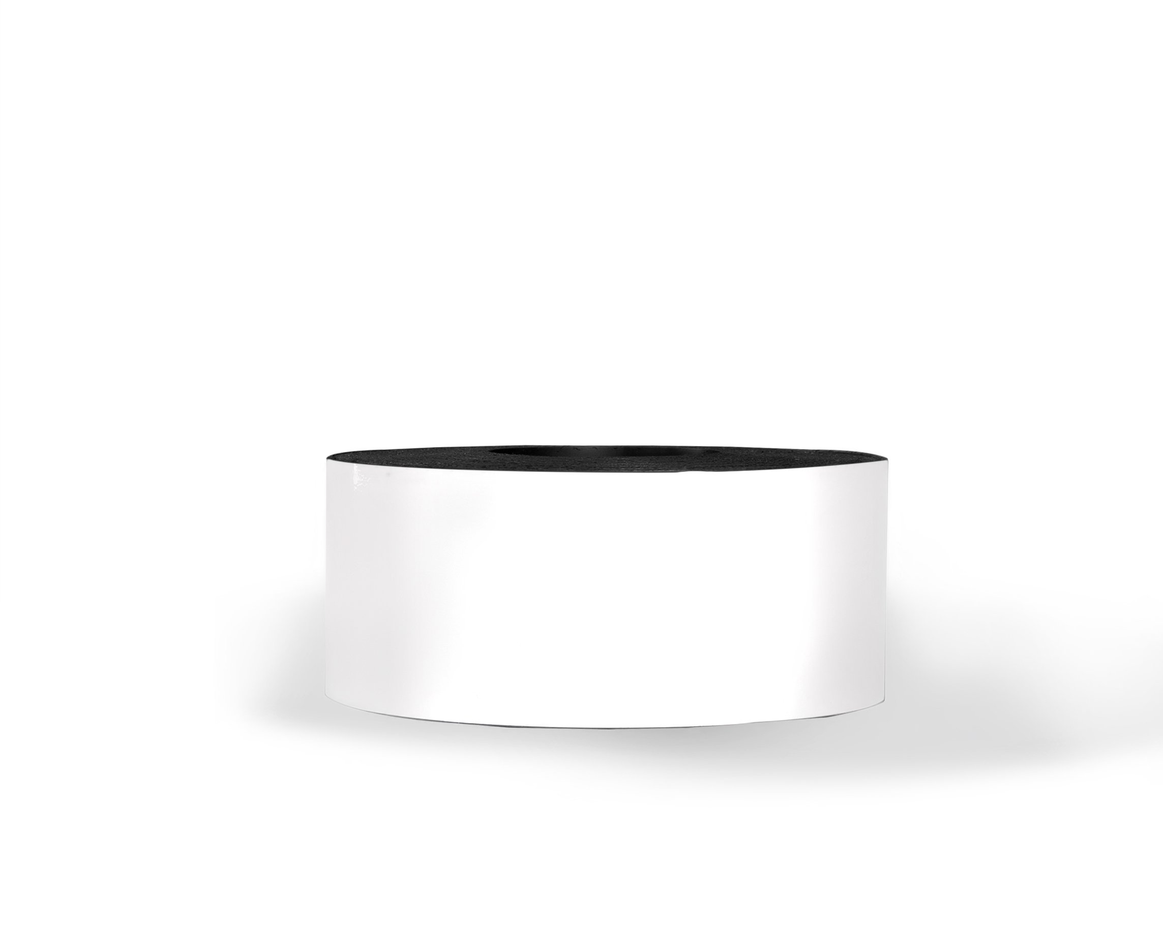 30 Mil Dry Erase Magnetic Strip Roll - White - 3'' X 100'