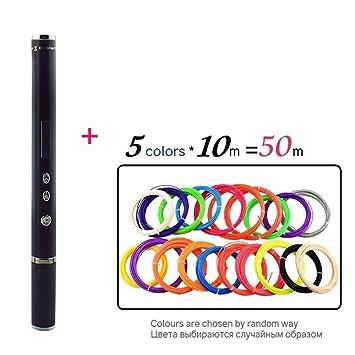 MDYHHX Impresora 3D Pen Pen Garabato OLED PLA ABS filamento 3D ...