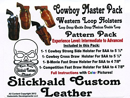 - Slickbald Leather Holster Patterns (Cowboy Master Holster Pack)