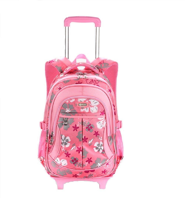 Schultrolley Mädchen - Kinder Rolling Rucksack