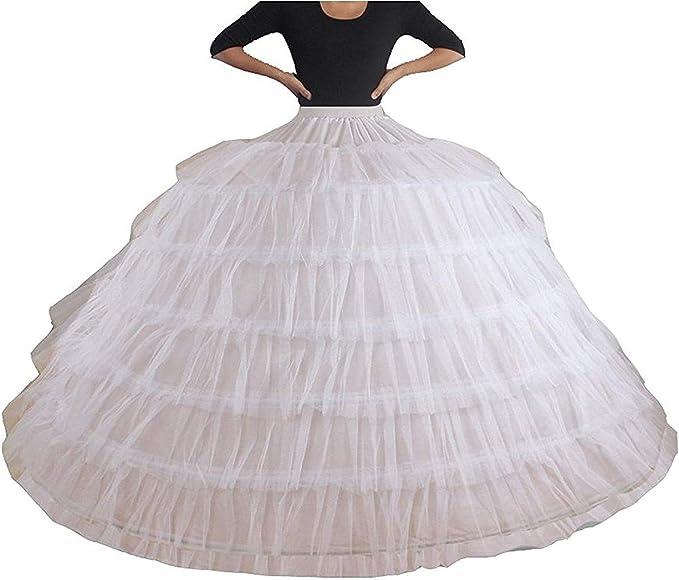 White No-Hoop Petticoat//Underskirt//Slip Crinoline Prom//Wedding Dress Accessories