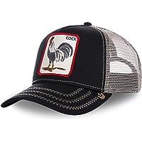 Goorin Bros–Gorra con gallo de camionero, en color negro para hombre/mujer