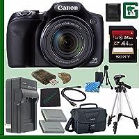 Canon PowerShot SX530 HS Digital Camera + 64GB Green's Camera Bundle 7 Explained Review Image