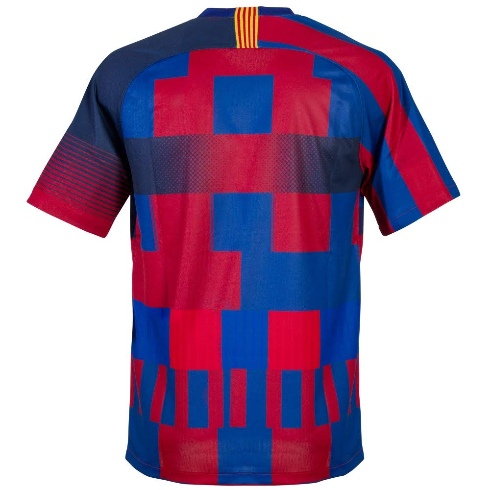 low priced 8dd20 6b17e Nike Men's Soccer FC Barcelona 20th Anniversary Home Jersey