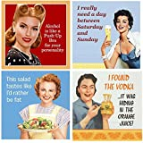 Funny Cocktail Napkins Women Snarky Sarcastic Variety Pack 40 total napkins
