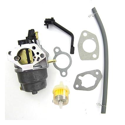 Amazon com: Manual Carburetor Assembly for GENERAC GP6500