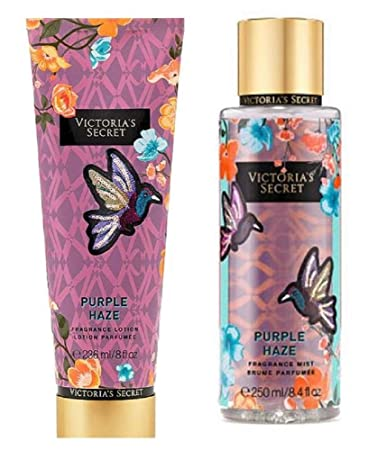 0c4c25bac2a Image Unavailable. Image not available for. Color  Victoria s Secret Purple  Haze Fragrance Lotion ...