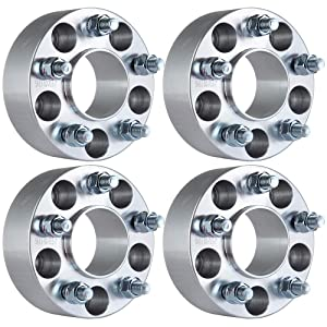 """ECCPP 5 lug Hubcentric Wheel Spacers 2"""" 5x4.5 to 5x4.5 5x114.3mm to 5x114.3mm 70.5mm 1/2""""x20 for Ford Mustang Ford Edge Mach 1 Crown Victoria Edge Ranger Explorer Lincoln Town Car Mercury"""