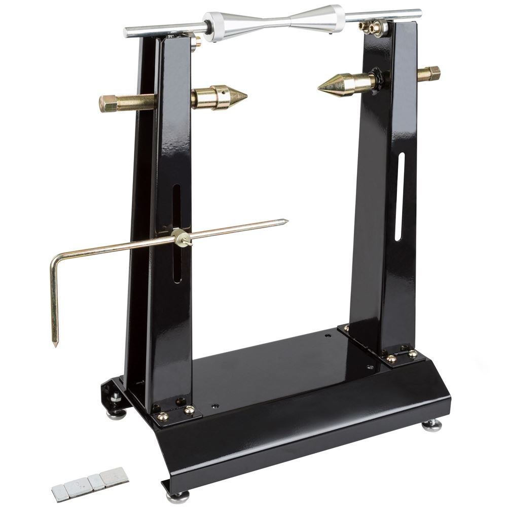 Black Widow Rage Powersports BW-WB-30 Wheel Balancer Stand with Truing Arm