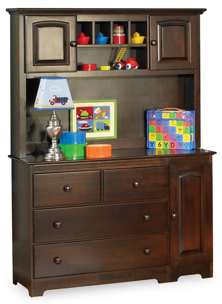Amazon Com Windsor 3 Drawer Changing Table With Hutch In