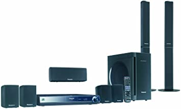 sound system amazon. panasonic sc-bt300 1250w 7.1 channel blu-ray disc home theater sound system amazon 0