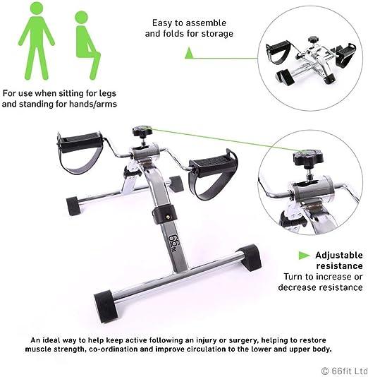 66FIT - Mini bicleta estática: Amazon.es: Deportes y aire libre