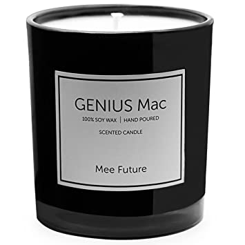 Amazon.com: Scented Candles 9.8 oz Soy Wax 78 Hours( Lime ...