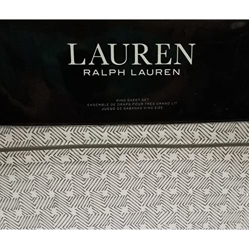 Cheap Lauren Ralph Lauren Spencer Basketweave Sateen King Sheet Set