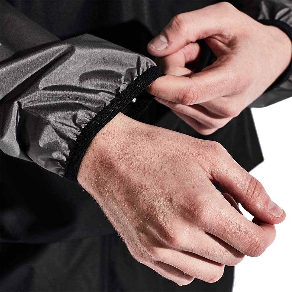 HOTSUIT Sauna Suit for Men Sweat Sauna Jacket Pant Gym Workout Sweat Suits : Clothing