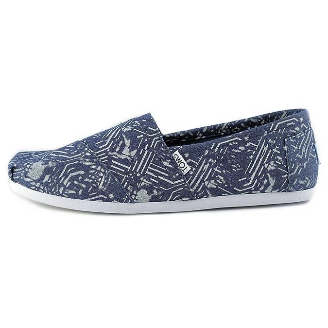 TOMS Classics Blue Batik Textile 45 Lq4Rugxt