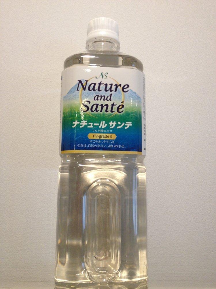 ナチュールサンテ FV-grade S フルボ酸エキス(国産フルボ酸100%) B00EQ007EE