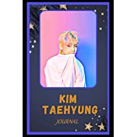 Journal: Kim Taehyung Inspired College Ruled Notebook for Writing ( 6x9, Thick Paper, 120 Pages )