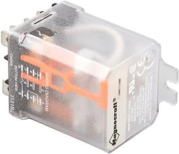 CRES COR 0857-102 20 Amp 240 Volt 50//60 Hertz Double Pole Double Throw Relay