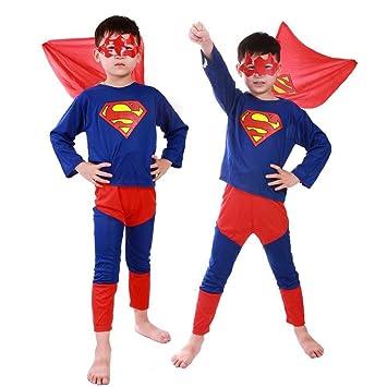 8220ca10c85a23 LORIA・JP ハロウィン 仮装 スーパーマン コスチューム 子供服 キッズコスチューム マーベル コスプレ 仮装 ハロウィン