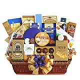 Regal Gourmet Gift Basket | Meat, Cheese, Crackers, Cookies, Chocolate and More