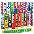 140cm16cm 2018 Russia FIFA World Cup Fans Fashionable Scarves Flags Sports Football Soccer Neckerchief