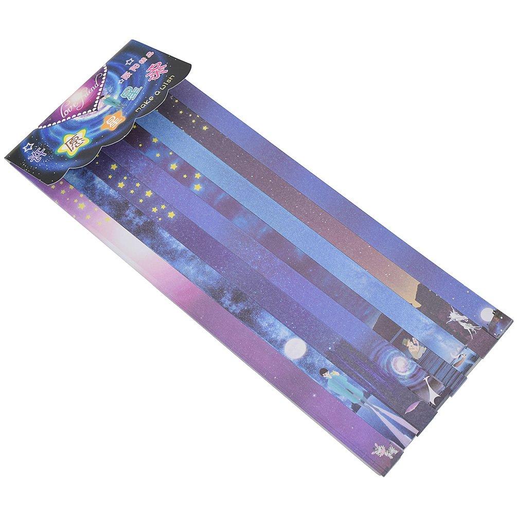 ynuth 160 Tiras Art-Manufacturer-Design faltpapier plegable ...