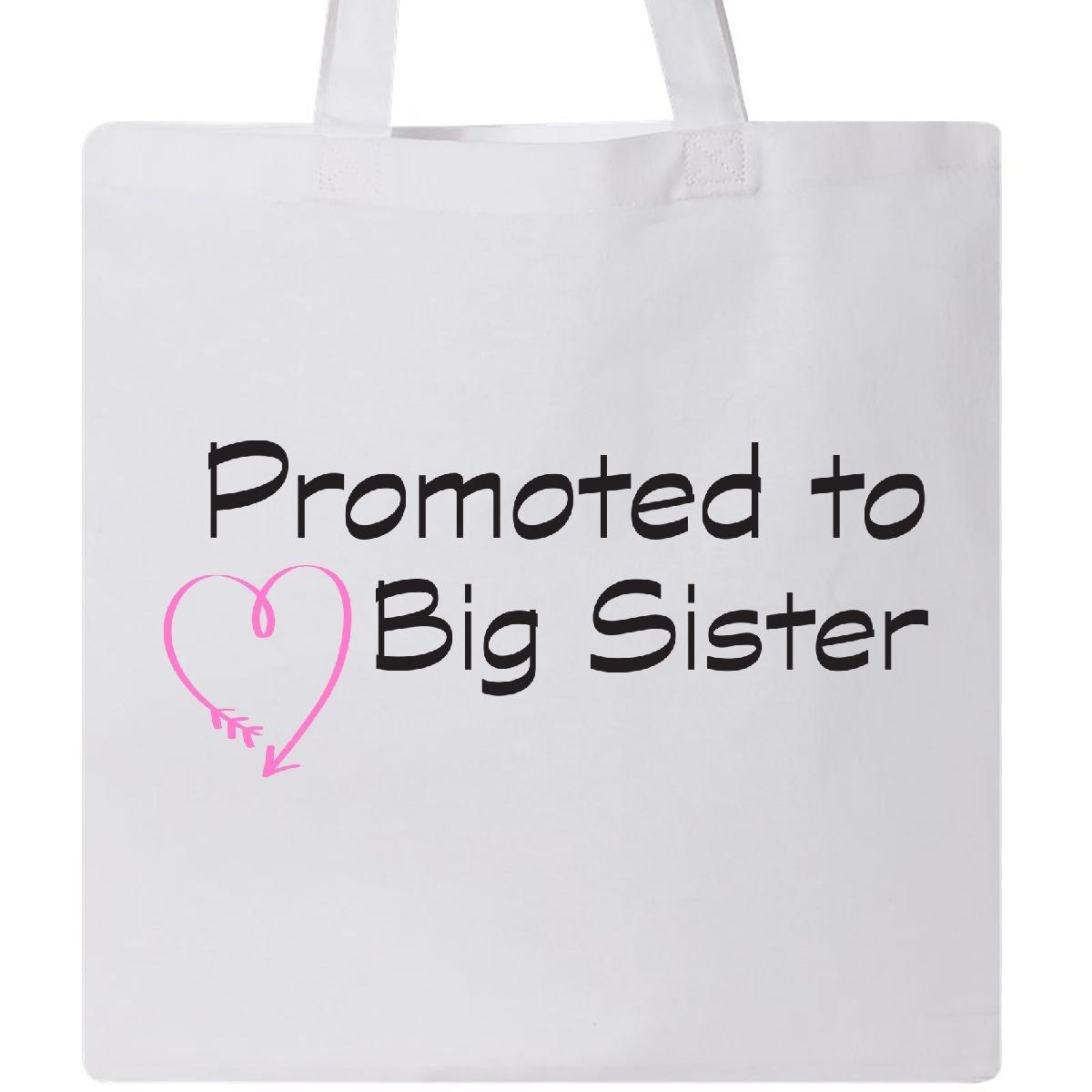 【ファッション通販】 Inktastic に昇格Big – に昇格Big Sisterブラックピンクハートトートバッグ One ホワイト Size Size B076V4N8B4 ホワイト ホワイト, アリスフローラ パール癒し雑貨:26a3d307 --- vezam.lt