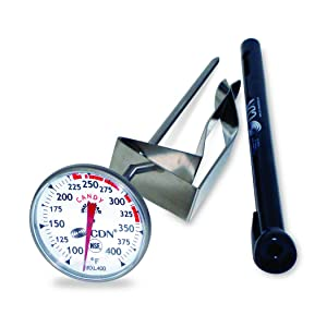 CDN IRXL400 - ProAccurate Candy & Deep Fry Thermometer - Insta-Read, NSF Certified