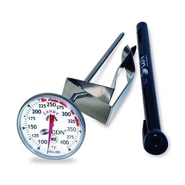 CDN IRXL400 - ProAccurate Candy & Deep Fry Thermometer - Insta-Read, NSF Certified