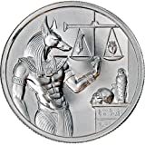 2 oz Elemetal Egyptian God Series Anubis High