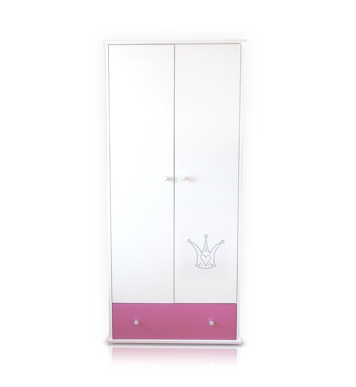 krone rosa schrank fr babyzimmer schrank krone rosa kleiderschrank online kaufen - Kleiderschrank Online Kaufen