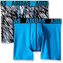 adidas Boys' ClimaLite Boxer Brief (2 Pack)