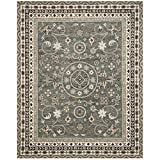 Cheap Safavieh Bella Collection BEL674A Handmade Grey and Taupe Premium Wool Area Rug (8′ x 10′)
