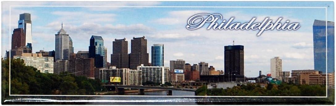 Philadelphia Skyline Refrigerator Magnet Souvenir- Made by CityDreamShop.com