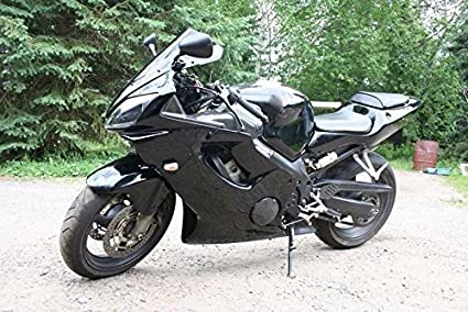 Amazoncom Gloss Black Complete Injection Fairing Kit For 2001 2002