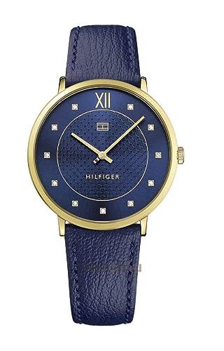 Tommy Hilfiger Reloj Análogo clásico para Mujer de Cuarzo con Correa en Cuero 1781807: Tommy Hilfiger: Amazon.es: Relojes