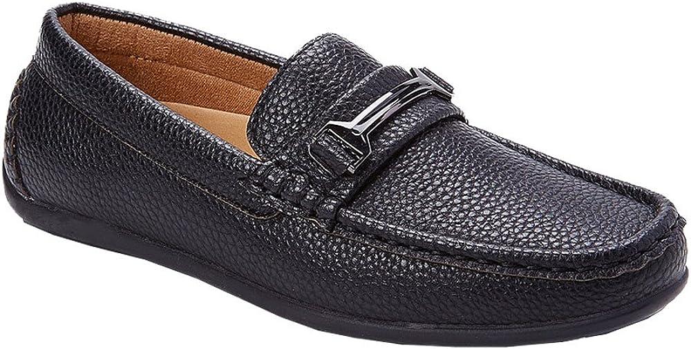 Franco Vanucci Youth Boys Slip On Dress Loafers