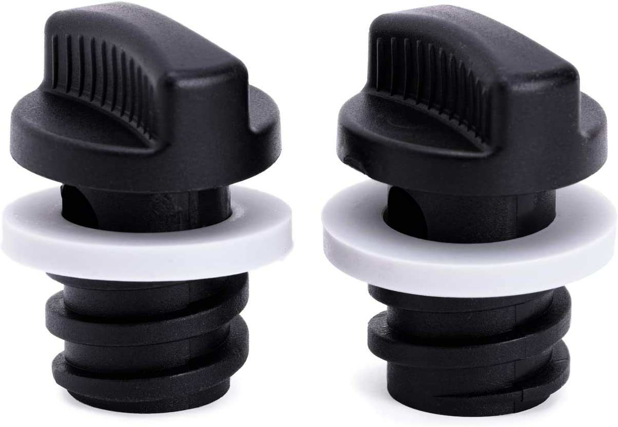 2-Pack of Replacement Drain Plugs for Yeti Coolers - Beast Drain Plugs, Ergonomically Improved Twist Drain Plug Compatible with Yeti's Line of Roadie, Tundra, and Tank Coolers