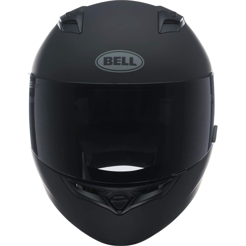 BELL HELMET QUALIFIER SOLID BLACK MATT S