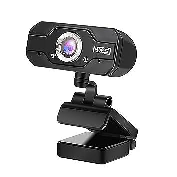 Cámara web de alta resolución 720P HD, computadora portátil USB Cámara web con micrófono integrado para videollamadas y grabación en Skype / FaceTime ...