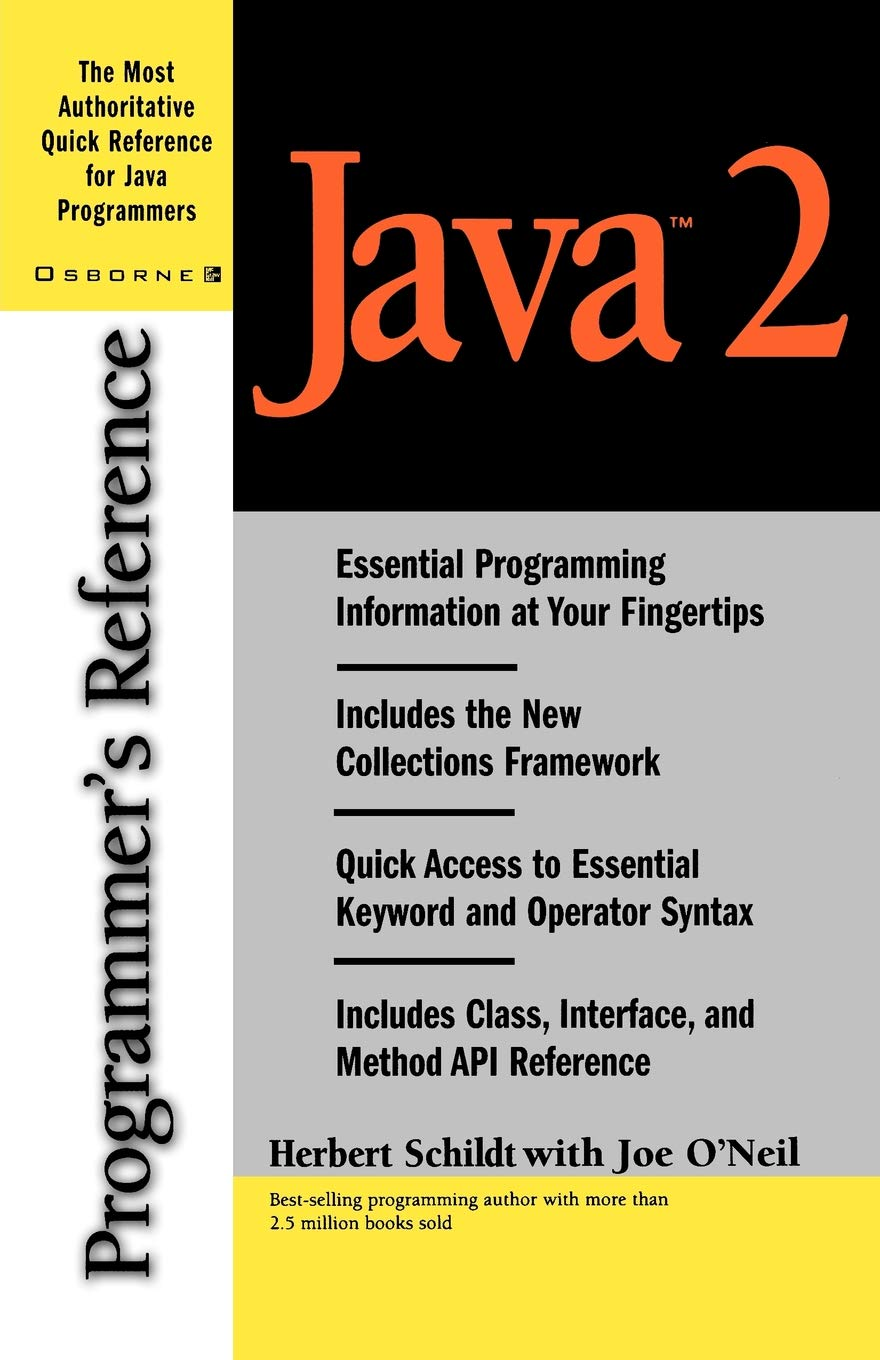 Java Programmers Reference