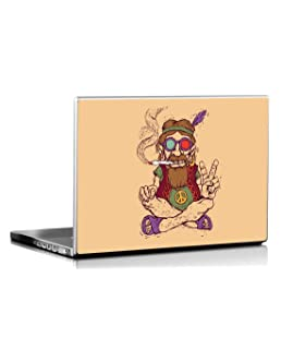 Seven Rays Peace Baba Laptop Skin Covers Fits for All Models for Screen Size Dimensions - 15 x 10 Inches