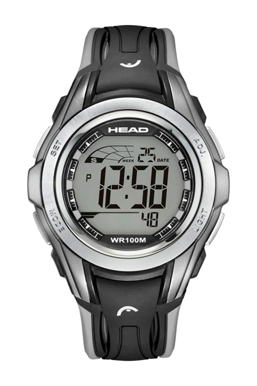 Winner Men & Women Sport Watch 10ATM Waterproof and Shock Resistant. Chronograph with Split, Timer, Alarm and Second Time Zone. Pefrect for Travel and ...