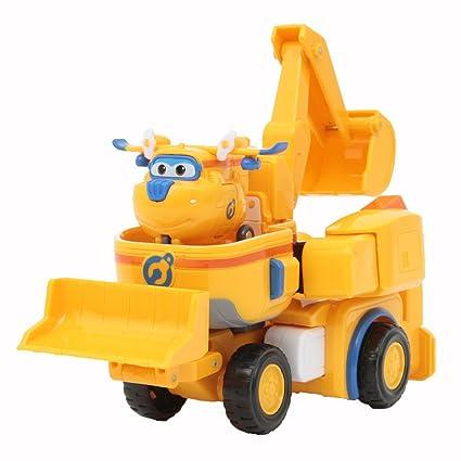 Super Wings Fahrzeug Transformer Vehicle Donnie Transforming Roboter Spielzeug