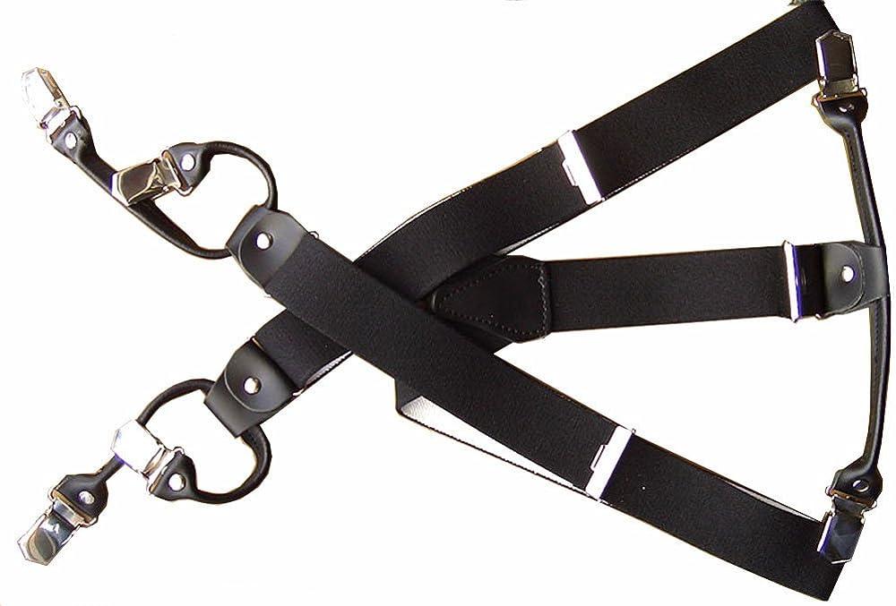 3,5/cm di larghezza di colore /& lunghezza a scelta 6 misure Bretelle con clip