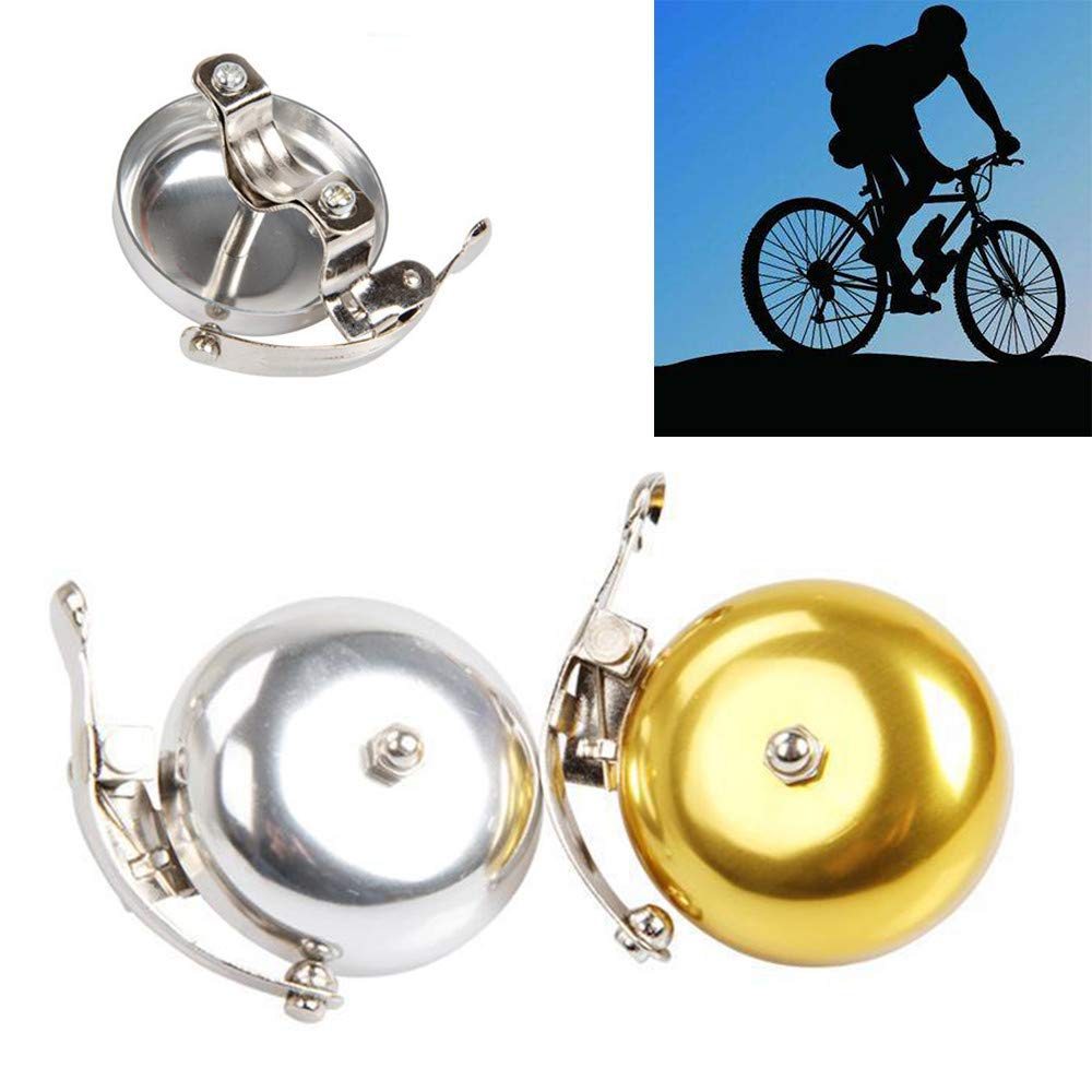 Aluminum Alloy Mini Bike Bicycle Bell Horns Clear and Loud Sound For Cycling USA