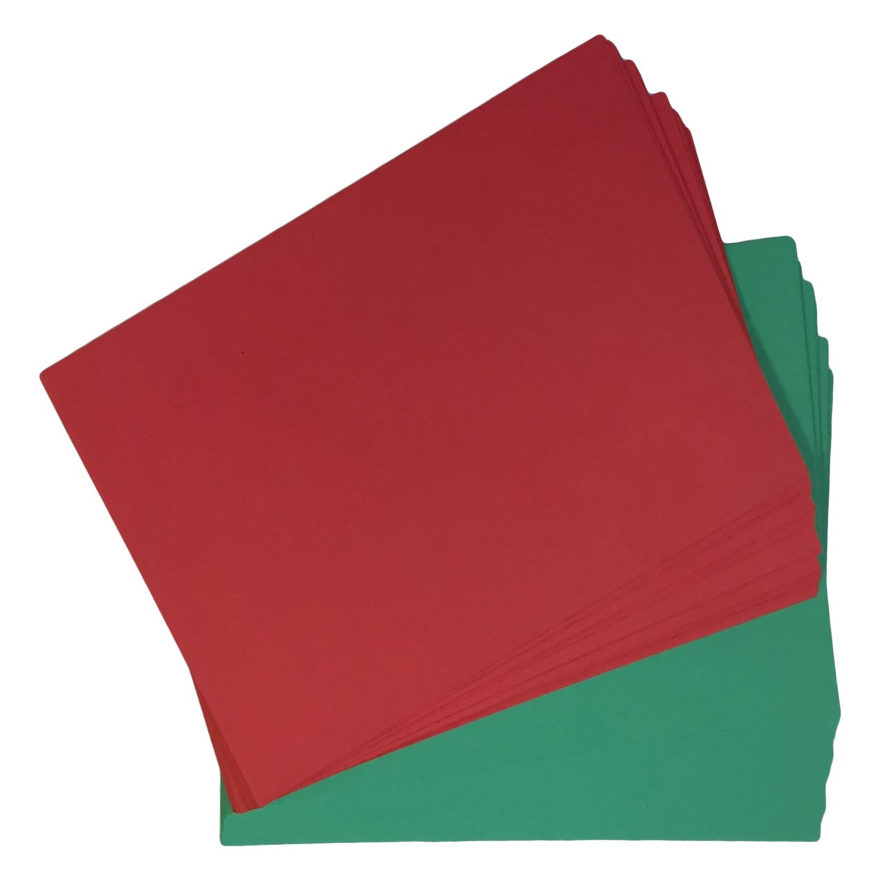 House of Card & paper A5 Christmas Card - Red/Green Stationery & Craft Select HCP312