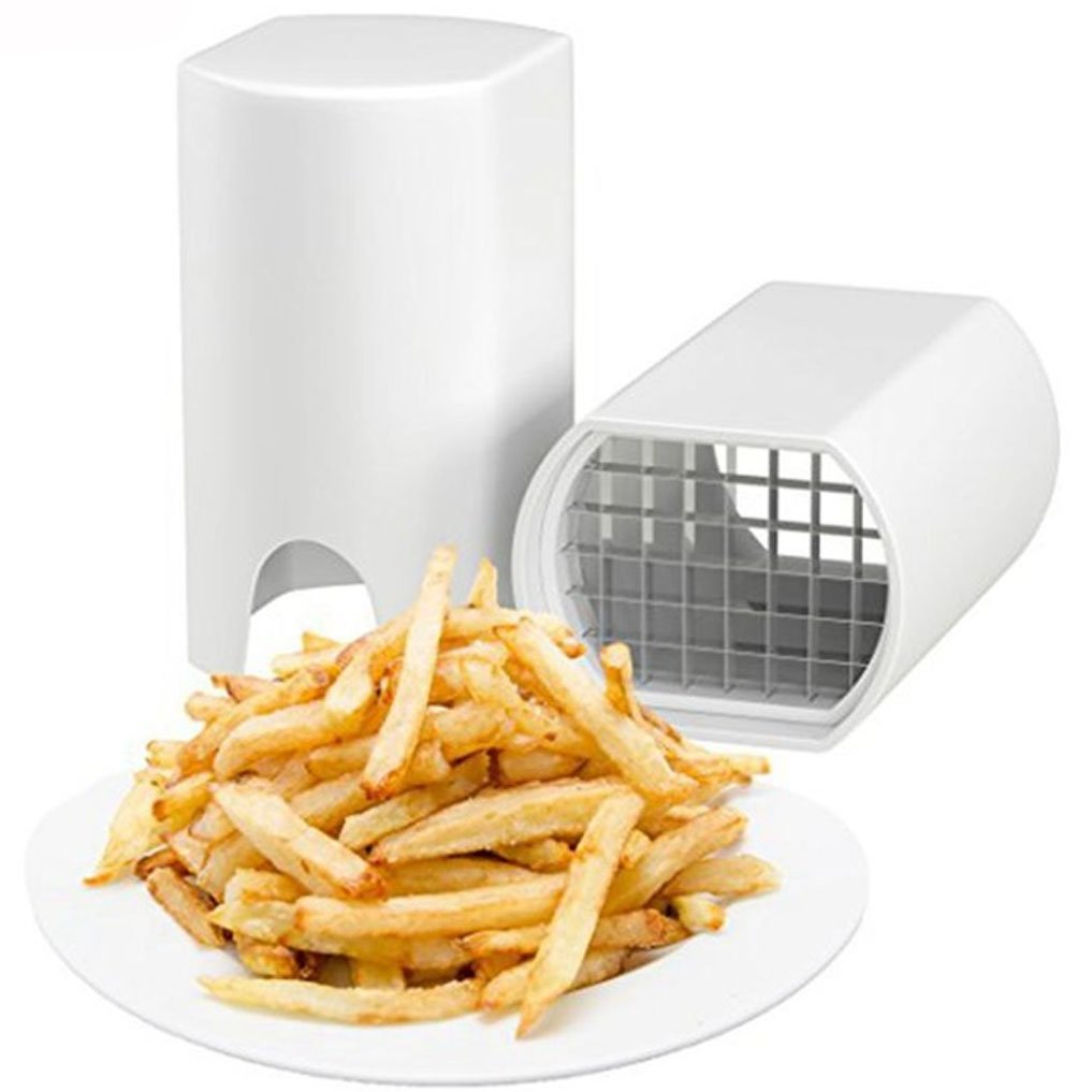 Stainless Steel French Fry Cutter, Slicer Cutter Sweet Potato Fries Cutter, Potato Dicer, Vegetable Dicer Slicer Cutter – Perfect Fries