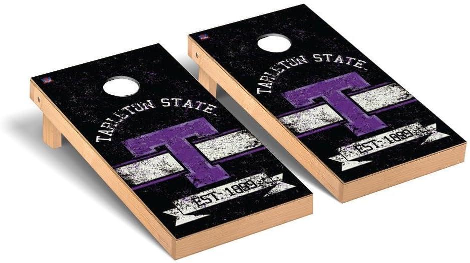 Tarleton State Texans Regulation Cornhole Game Set Banner Vintage Version
